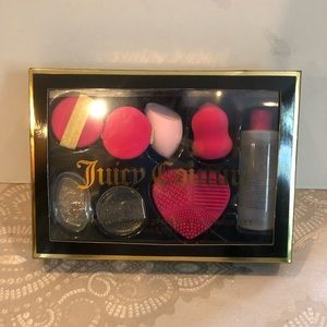 Juicy Couture ultimate sponge and cleanser kit new